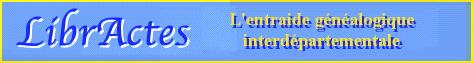 LibrActes, groupe d'entraide genealogique
